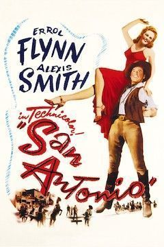 Poster for the movie San Antonio