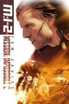 Mission Impossible II movie poster.