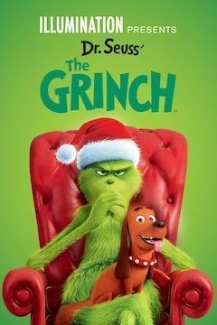 Poster for the movie The Grinch