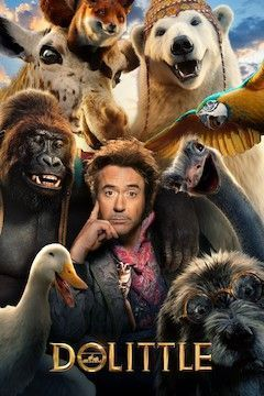 Dolittle movie poster.