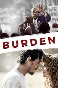 Burden movie poster.