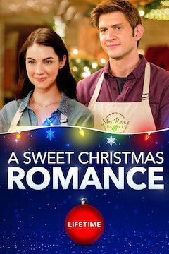 A Sweet Christmas Romance movie poster.