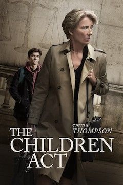 The Children Act movie poster.