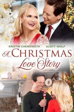 A Christmas Love Story movie poster.