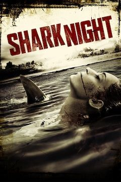 Shark Night movie poster.
