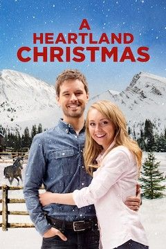 A Heartland Christmas movie poster.