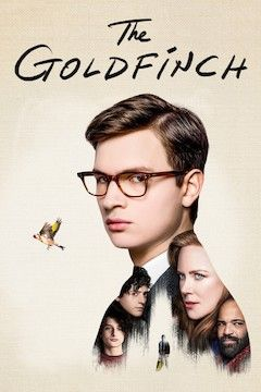 The Goldfinch movie poster.
