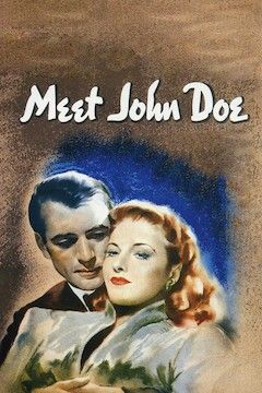 Meet John Doe movie poster.