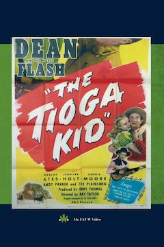 Poster for the movie The Tioga Kid