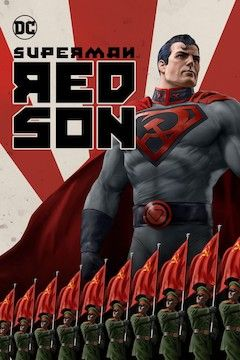 Superman: Red Son movie poster.