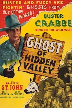 Ghost of Hidden Valley movie poster.