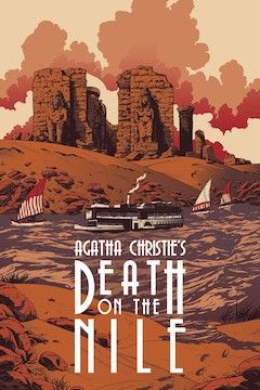 Death on the Nile movie poster.