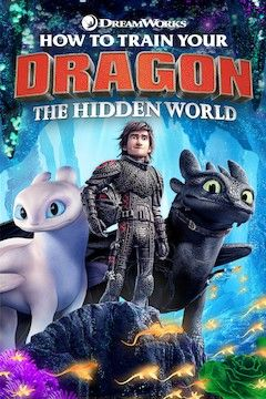 How to Train Your Dragon: The Hidden World movie poster.