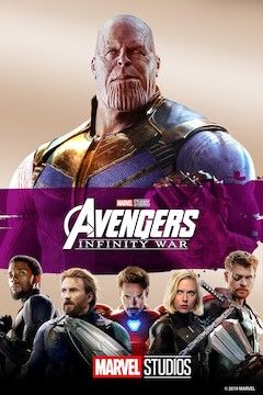 Avengers: Infinity War movie poster.