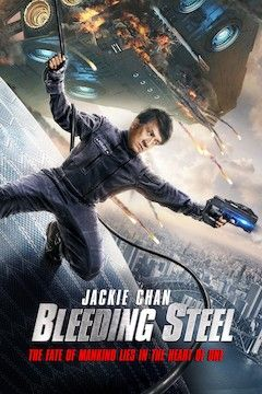 Bleeding Steel movie poster.