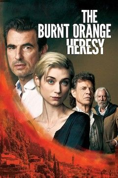 The Burnt Orange Heresy movie poster.