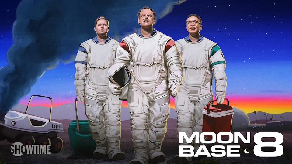 Image for the TV series Moonbase 8 (v.f.)