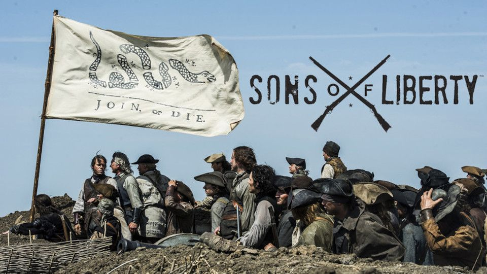 Image for the TV series Sons of Liberty