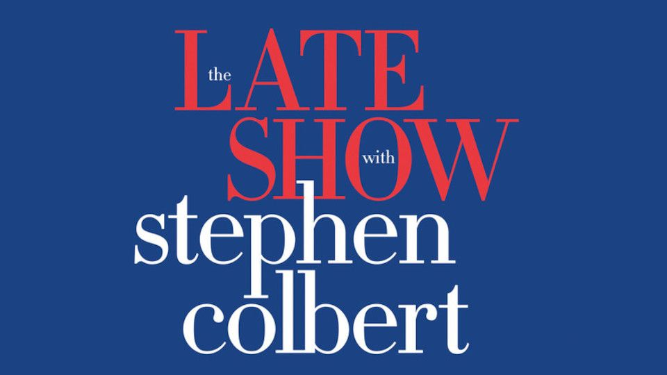 Image for the TV series The Late Show With Stephen Colbert