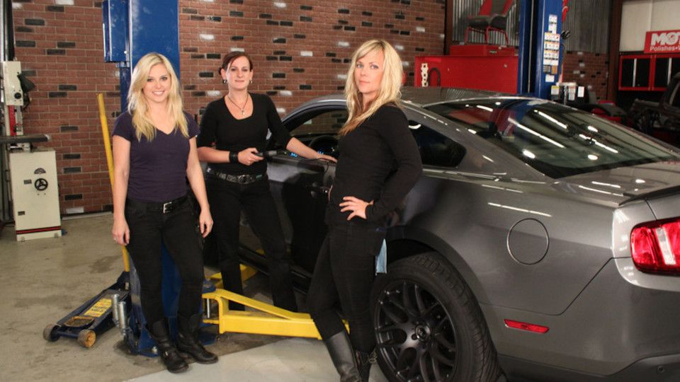 Image for the TV series All Girls Garage