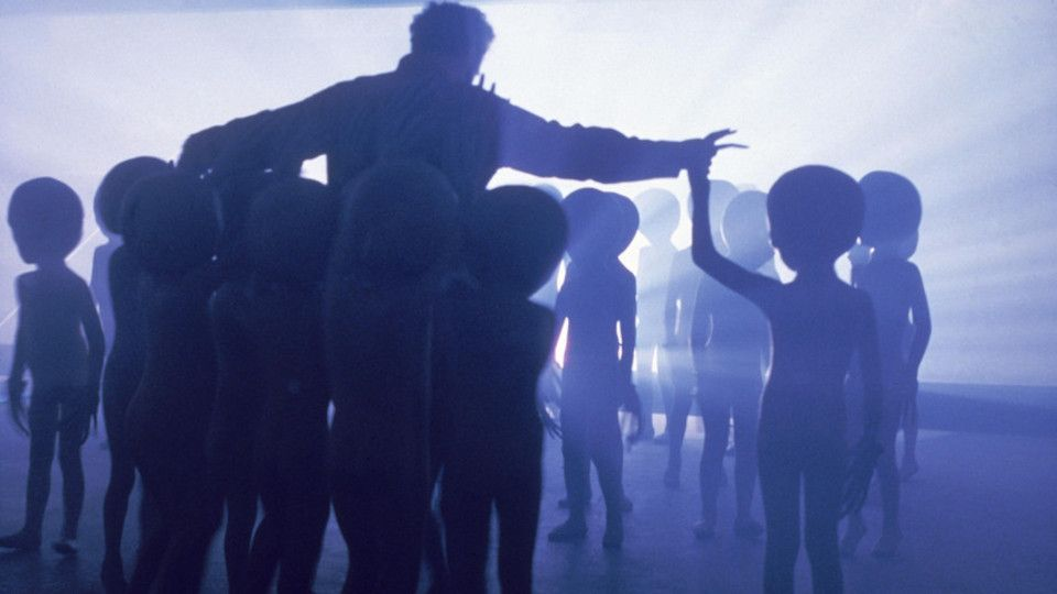Poster for the movie Close Encounters of the Third Kind