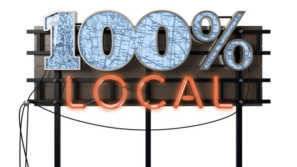 Image for the TV series 100% local