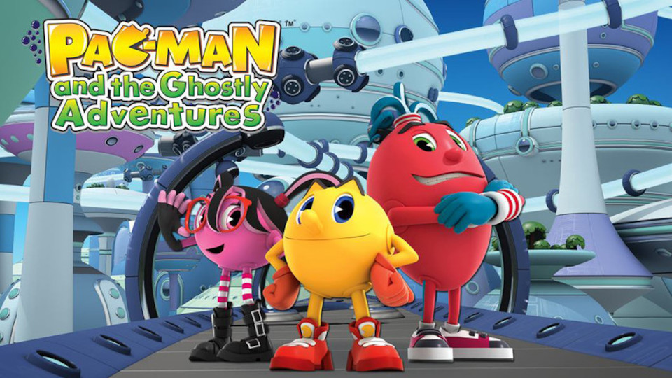 Image for the TV series Pac-Man and the Ghostly Adventures