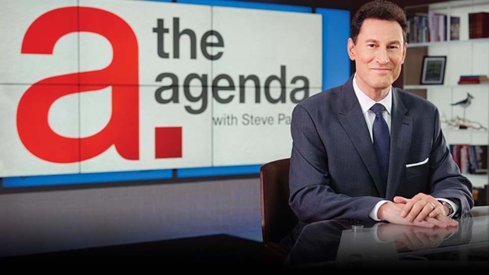 Image for the TV series The Agenda With Steve Paikin