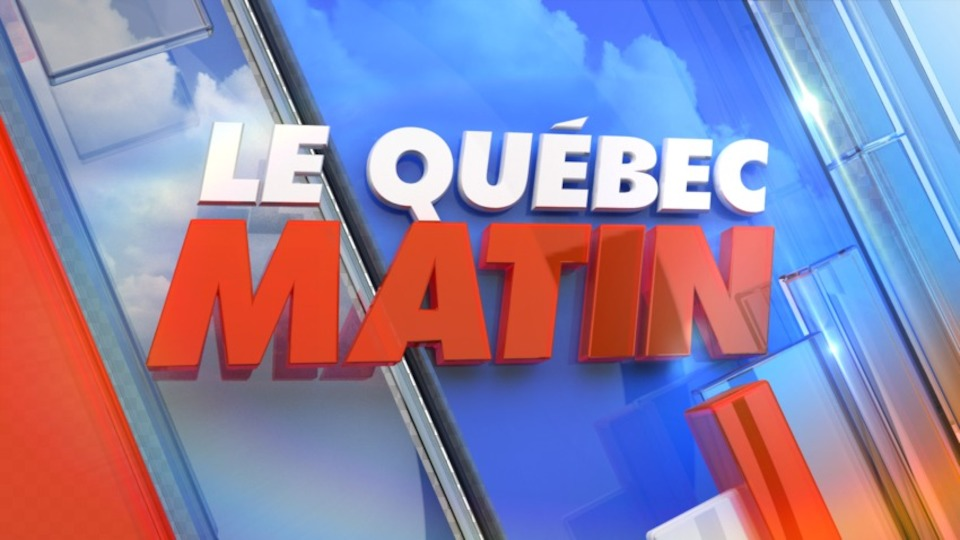 Image for the TV series Le Québec matin