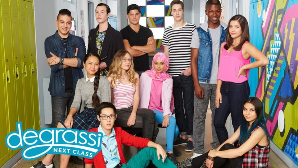 Image for the TV series Degrassi: Next Class