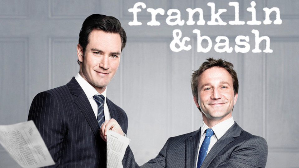 Image for the TV series Franklin & Bash