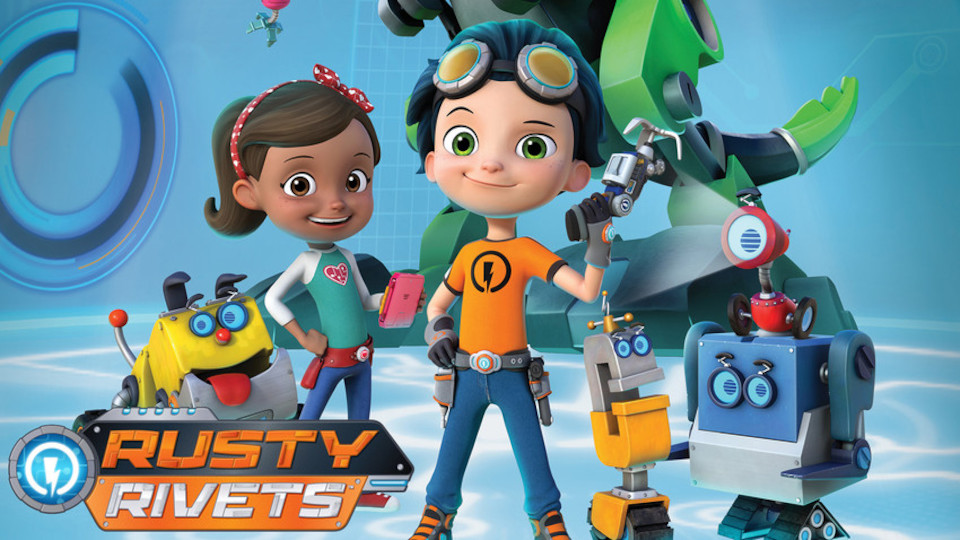 Image for the TV series Rusty Rivets