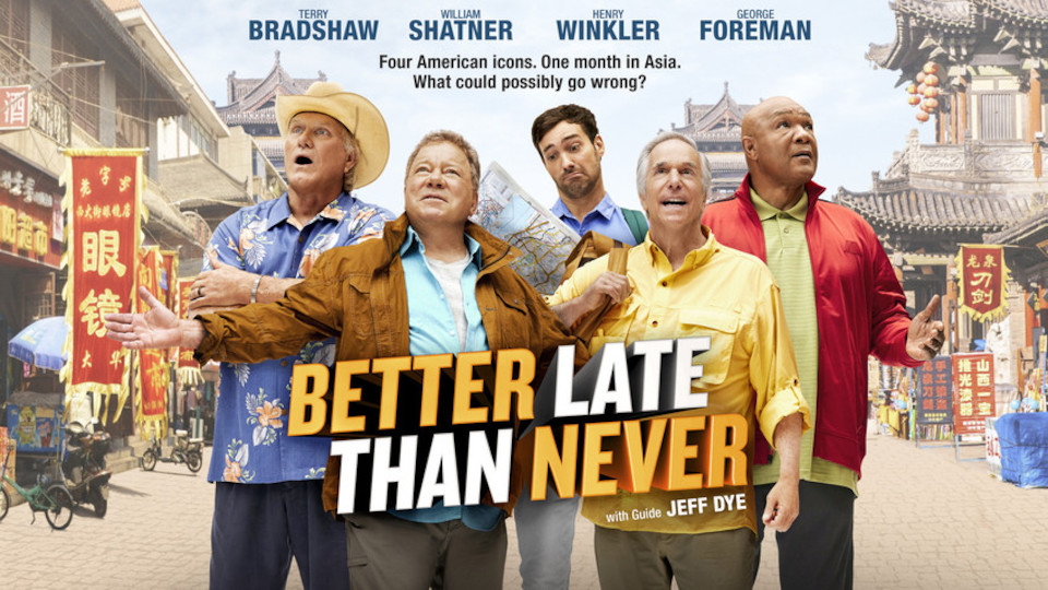 Image for the TV series Better Late Than Never