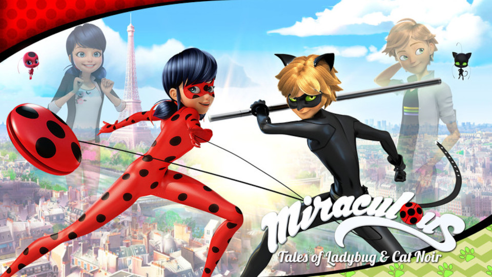 Image for the TV series Miraculous: Tales of Ladybug and Cat Noir