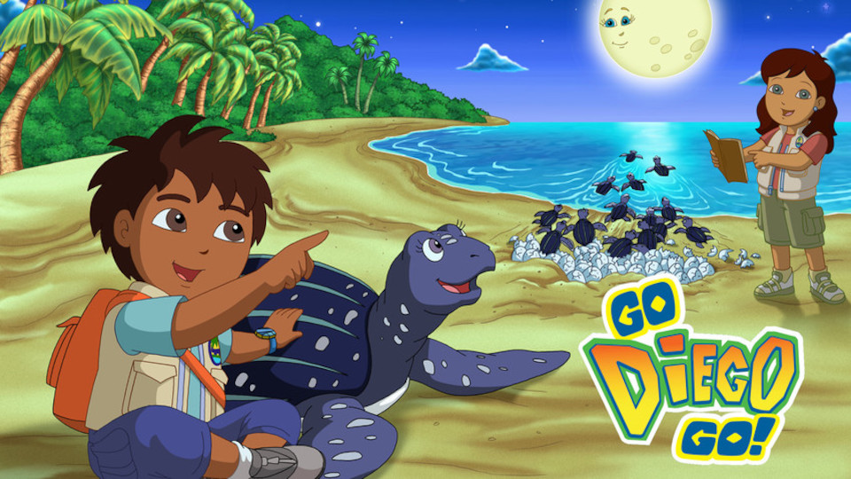 Image for the TV series Go, Diego, Go!