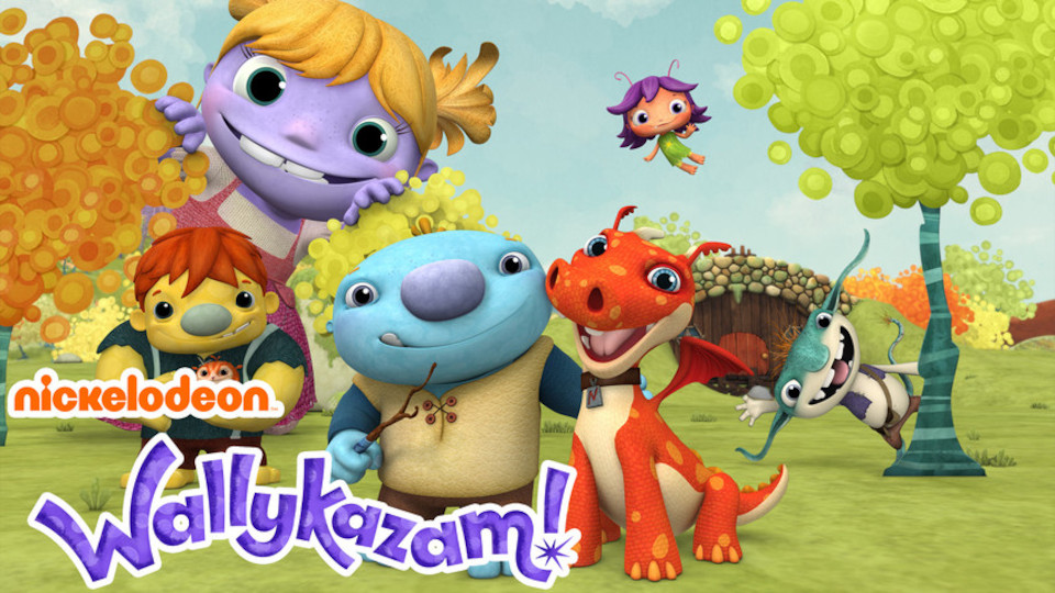 Image for the TV series Wallykazam!