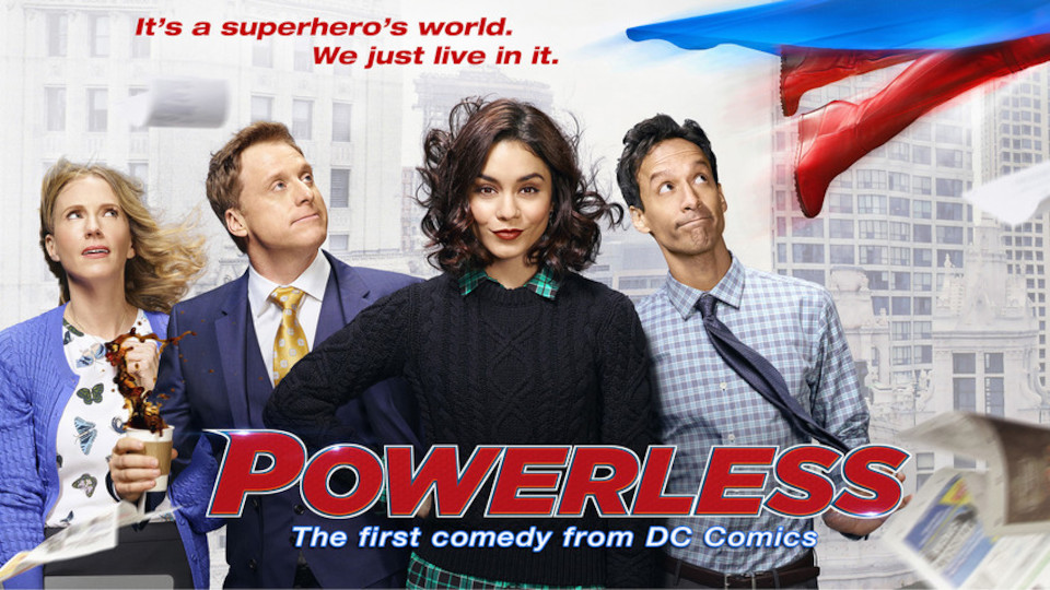 Image for the TV series Powerless