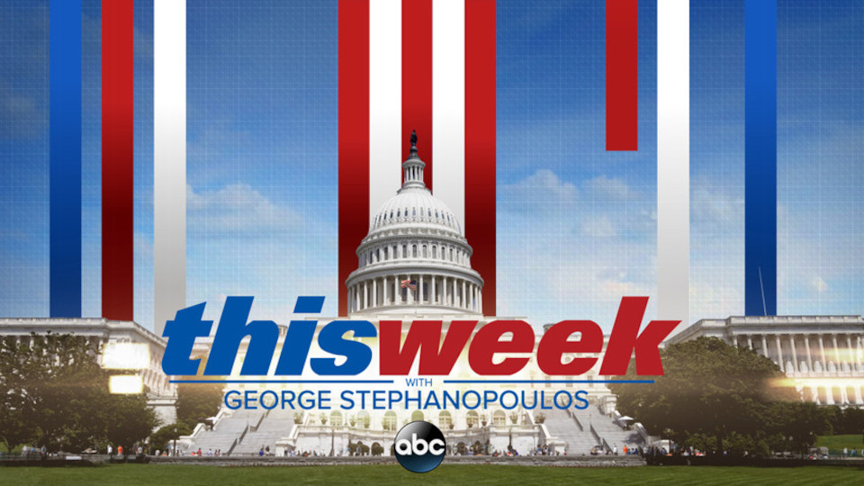 Image for the TV series This Week With George Stephanopoulos