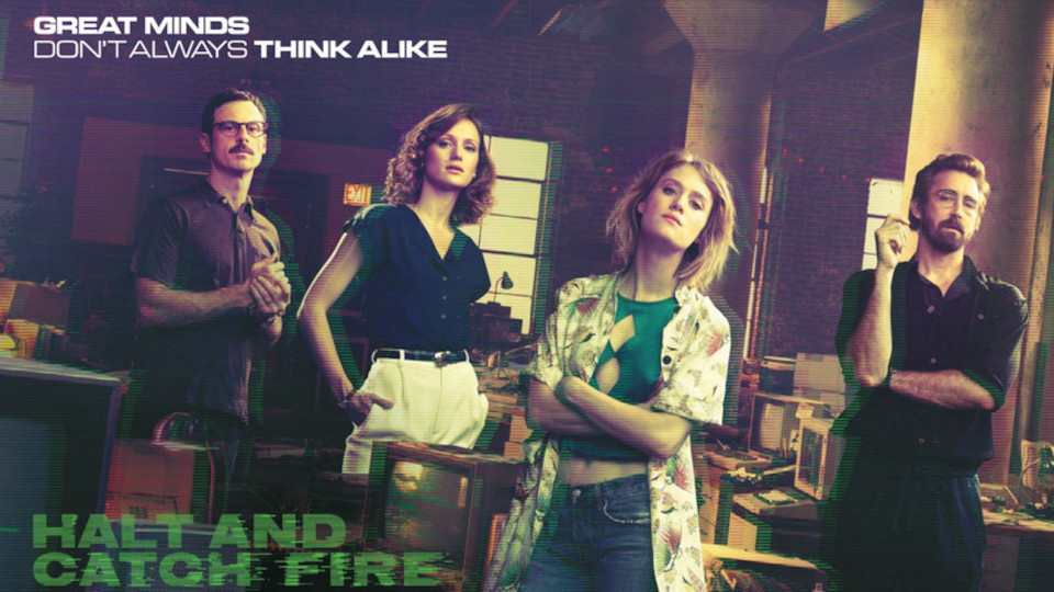 Image for the TV series Halt and Catch Fire