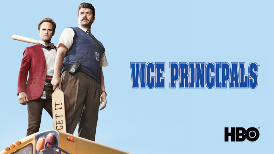 Image for the TV series Vice Principals (v.f.)