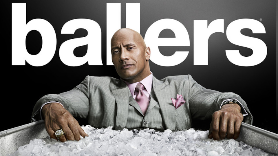 Image for the TV series Ballers (v.f.)