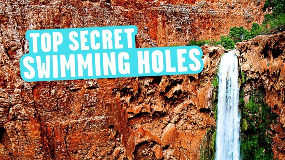 Image for the TV series Top Secret Swimming Holes