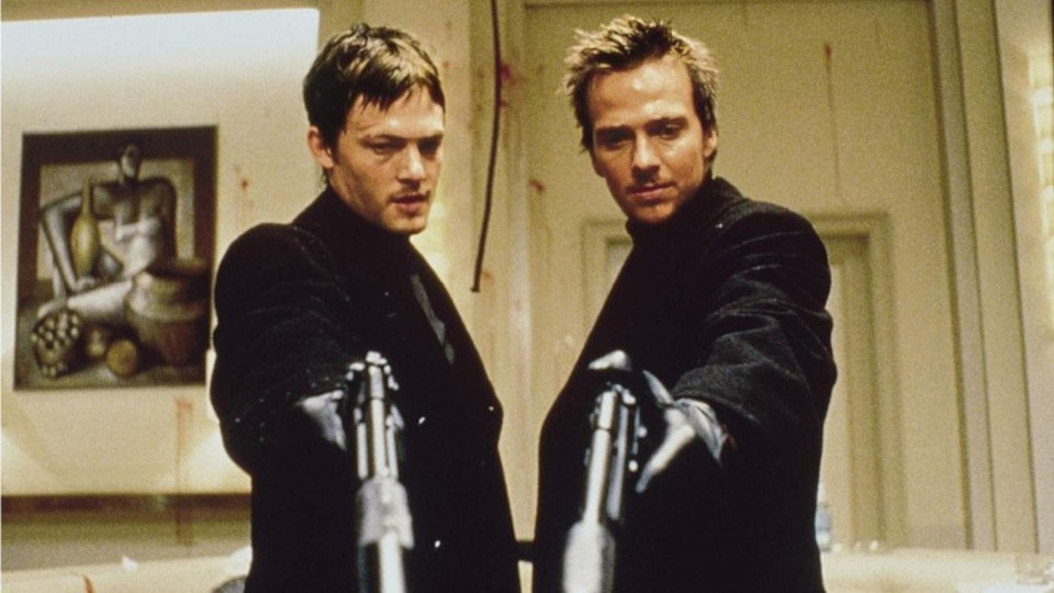 Poster for the movie The Boondock Saints