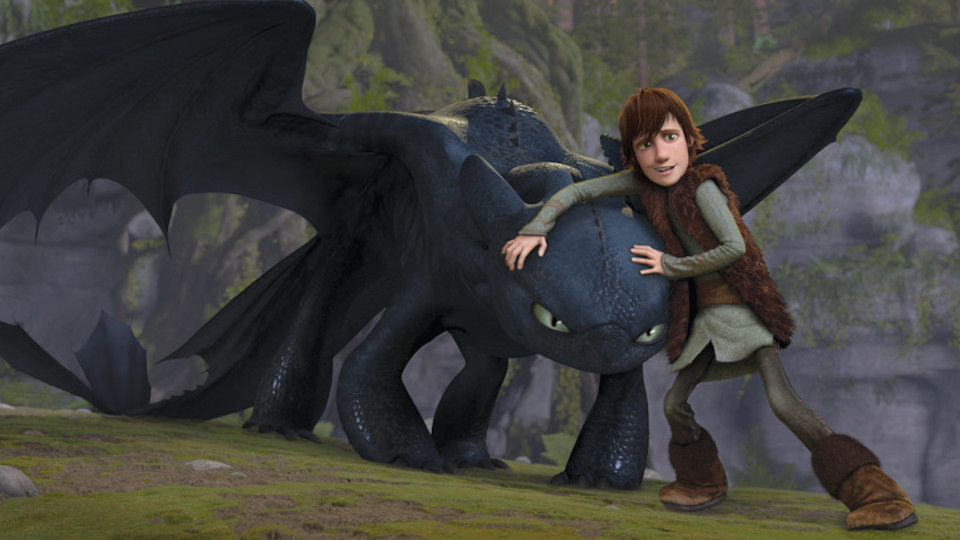 Poster for the movie How to Train Your Dragon