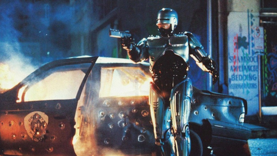 Poster for the movie RoboCop 2