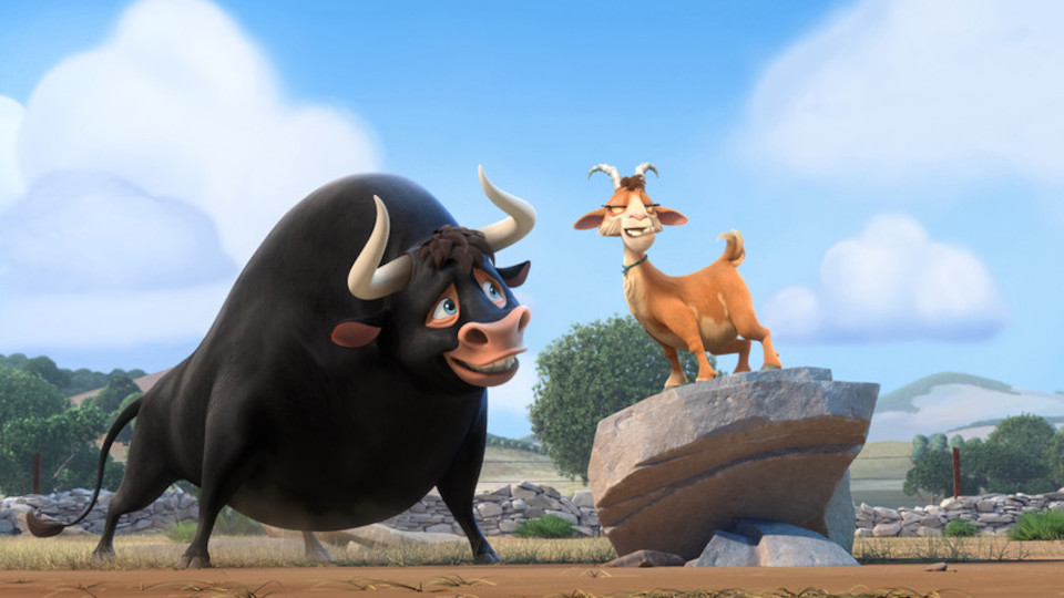 Poster for the movie Ferdinand