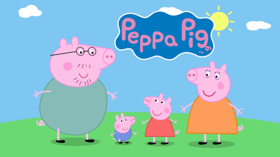 Image for the TV series Peppa Pig