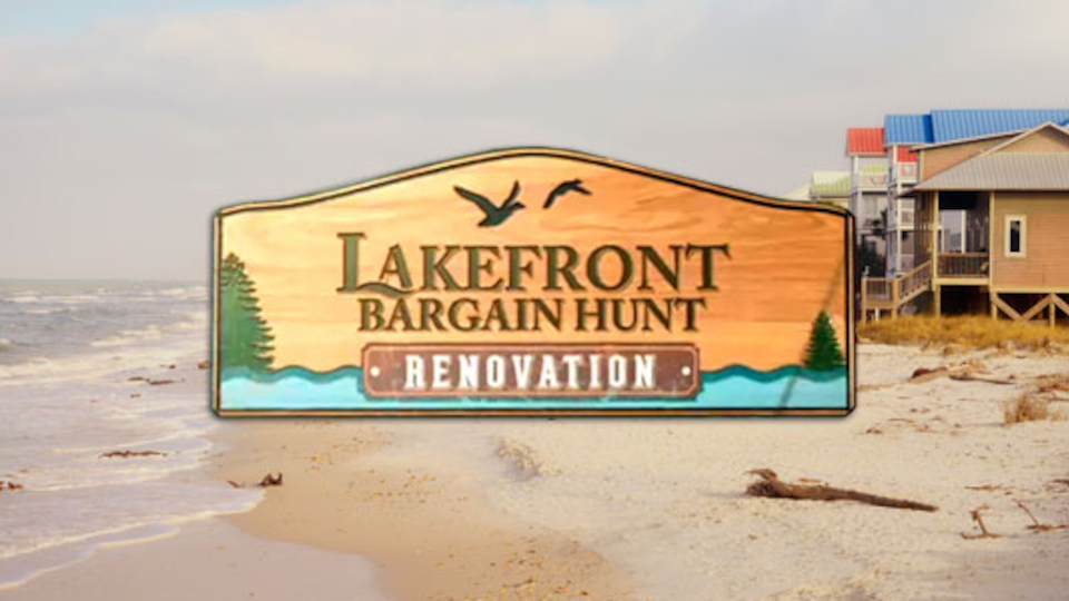 Image for the TV series Lakefront Bargain Hunt: Renovation