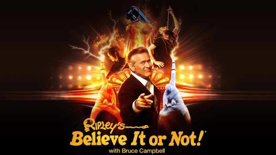Image for the TV series Ripley's Believe It or Not!