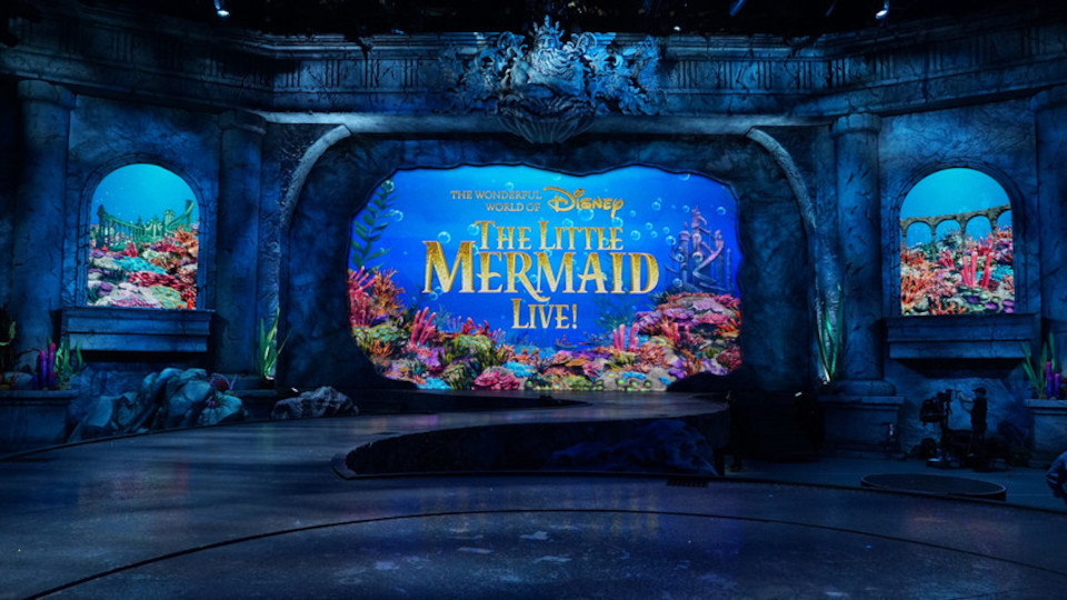 Image for the TV series The Little Mermaid Live!